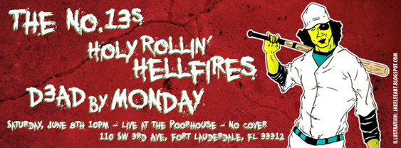 The No.13s, D3AD by MONDAY and the return of Holy Rollin' Hellfires